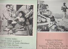 CINEMATOGRAPHE 1977- n°30 & 31- Le cinéma italien - Les films fascistes...
