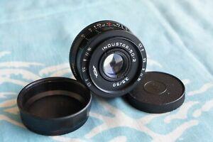 INDUSTAR-50-2 50mm f3.5 lens M42 Zenit Micro 4/3 Tessar  Pentax camera 1976 *