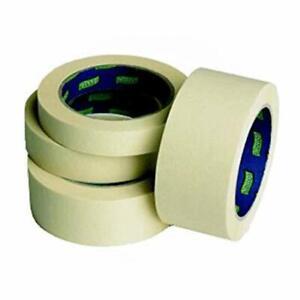 White Protection Masking Tape 24/36/38/48mm - 25-50m Masking Tape Paint Resistan