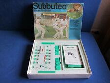 Subbuteo Table Cricket Club Edition! 1970's! TOP Zustand! TOP Condition!