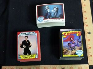 (225+) Superman 1978 1980 1982 trading cards