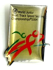 Spilla Sportiva Pattinaggio ISU World Junior Short Track Speed Skating Champions