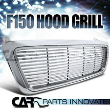 Ford 04-08 F150 Truck Chrome Billet Style Front Hood Bumper Grill Grille