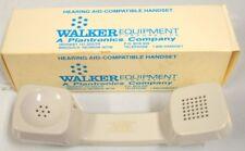 Hearing Aid-Compatible Handset by Walker Equipment - Computer Grey