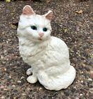 Vintage Cast Iron Persian Cat Doorstop Figure 8 1/2