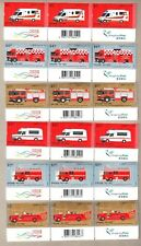 China Hong Kong 2018 150th Fire Services Department Stamps 3 Sets 3 Imprints