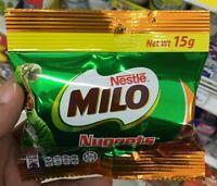 Nestle Milo Nuggets Chocolate Malt Confectionery Energy Snack Choc Delicious 15g