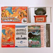 Pokemon Fire Red Pocket Monsters Wireless Game Boy Advance GBA Nintendo Japan