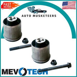 Pair Set of 2 Rear Trailing Arm Bushings Mevotech For Chevy Saturn Pontiac