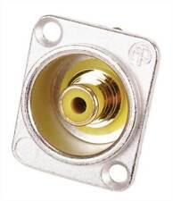 Neutrik NF2D RCA Socket jaune