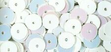Sequins White Iridescent Ø6 MM Smooth 6 G Washable - Rayher