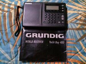 Grundig Yacht Boy 400 Yacht Boy LW/MW/SW/FM Short Wave World Receiver w/extras