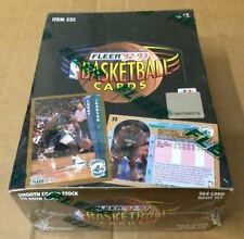 1992-93 FLEER BASKETBALL CARD SLD. BOX-SER.1-POS-HOT PSA 10 MICHAEL JORDAN CARDS
