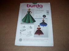Burda Pattern 7336 Barbie Evening Gown / Dress in Three Styles ~   Uncut
