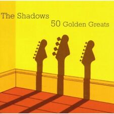 THE SHADOWS 50 GOLDEN GREATS 2 CD SET