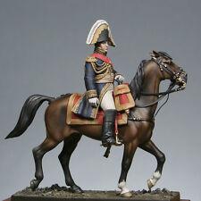 Metal Modeles Mounted Napoleonic Marshal Berthier 54mm Unpainted Kit