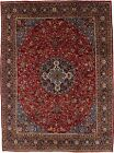 Classic Floral Design Plush Large 10X13 Hand Knotted Decor Wool Oriental Carpet