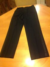 Boys Tuxedo Pants Waist 26 Formal Wear Retired Rental Costume Vintage 90s Black