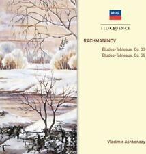 Vladimir Ashkenazy - Rachmaninov: Etudes Tableaux Op 33 & 39 [New CD]