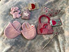 Design A Bear / Build A Bear My Little Pony Tiara, Wand & Bag Set, & Slippers