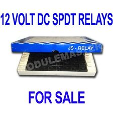 SPDT 12 Volt DC Relays Box of 100 Removed from working equipment