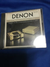 Hi Fi  Denon Alpha Processor Demonstration Disc for S series TDCL-91068