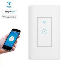 Smart LED Light Dimmer WiFi Wall Touch Switch 1Gang Work with Alexa Google IFTTT