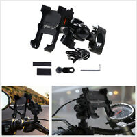 Motorcycle ATV Handlebar Qc3.0 Fast Charge Phone Bracket For 4-6in Mobile Phone