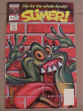 Slimer #1 NOW Comics 1989 The Real Ghostbusters 9.2 Near Mint- SLIMER!