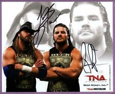 Beer Money Inc. James & Robert Authentic Autographed 8x10 Wrestling Photo - TNA