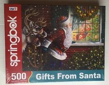 Springbok - Gifts From Santa Jigsaw Puzzle 500pc 34-01519