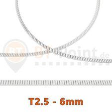 T2.5 Zahnriemen PU Stahlkern Riemen open belt steel core 6mm 3D Drucker Printer