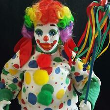 Danbury Mint Bubbles the Circus Clown Collector Doll Porcelain Collectors Doll