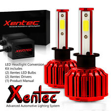 Xentec LED Light Bulb Kit Headlight Size HB2 9003 H4 6000K Hi-Lo 55W 30000LM