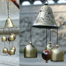 Big Metal Dragon 6 Bell Windchime for Home Positivity Hangings Good Luck
