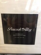 IVORY Peacock Alley KING  500 TC Egyptian Cotton Sateen Sheet Set~NEW
