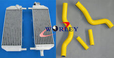 Aluminum radiator & hose kit for SUZUKI RM250 2001-2008 01 02 03 04 05 06 07 08