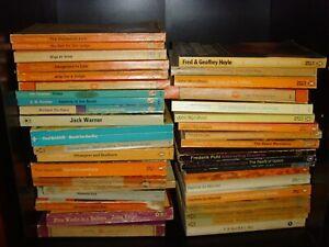 Penguin Classic Rare Orange, Purple, Blue and Black Old Book Collection