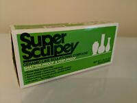 Sculpey Super Sculpturing Compound Clay 1 lb. box 1 Pound 715891114315