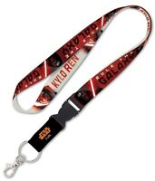 "Star Wars Kylo Ren New Trilogy 1"" Lanyard with Detachable Buckle"