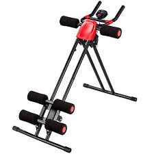 Entrenamiento de abdomen espalda musculatura abdominal máquina fitness gimnasio