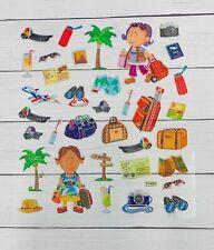 Fun  Vacation Travel Stickers Planner Papercraft Scrapbook  Journal DIY Crafts