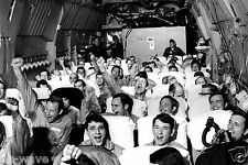 Newly Freed Prisoners of War Celebrate as C-141A Aircraft Lifts Off  Hanoi 1973