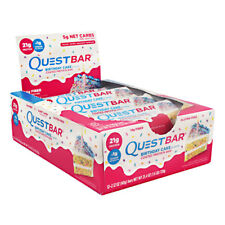 QUEST NUTRITION QUEST BARS ALL FLAVORS 12 BARS DISCOUNTED LOW PRICE GLUTEN FREE