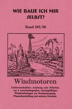 Selbstbau Windturbinen Windrad Windkraftanlage Stahlwindturbine bis 3 m Rotor