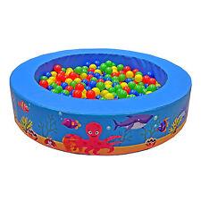 Implay Soft Play PVC Foam Children's Deep Sea Theme Round Ball Pool Activity Toy