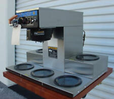 BUNN CRTF5 AUTOMATIC COFFEE BREWER  /  WITH  5 WARMERS
