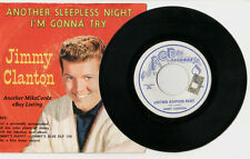 """JIMMY CLANTON """"Another Sleepless Night/I'm Gonna Try"""" 1960 ACE 45 Sleeve/Record"""