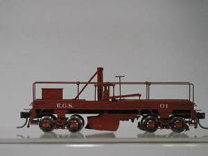 PBL Sn3 Milestone Models Brass Rio Grande Southern Drag Flanger #01 JL-67
