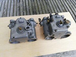 Pair of Weber 45DCOE9 Carburettors Aston Martin, Alfa, Maserati